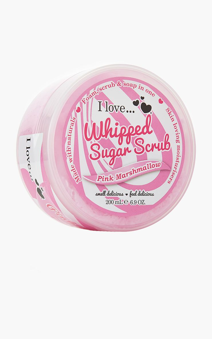 I Love Whipped Sugar Scrub Pink Marshmallow