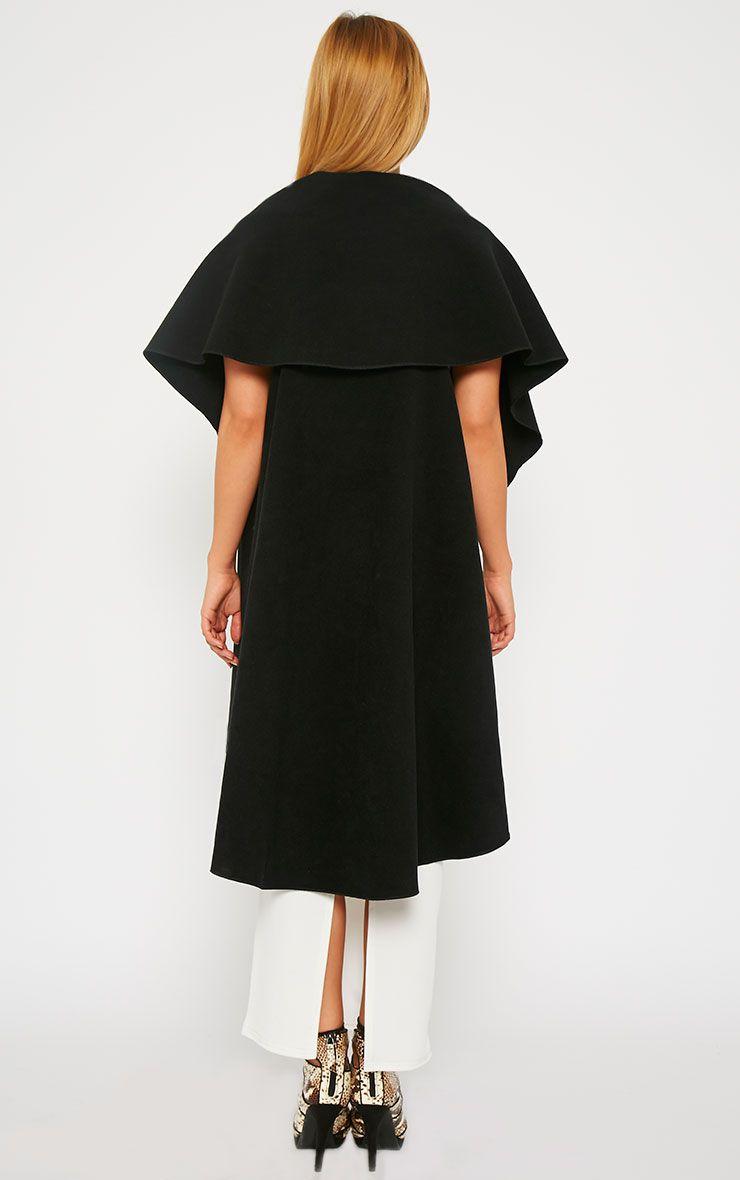 Vivian Black Waterfall Waistcoat 2