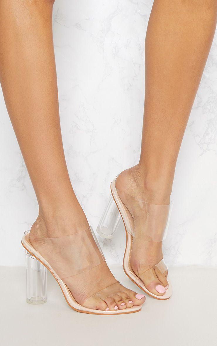 Serenna Black Lace Up Sandals  High Heels -4645