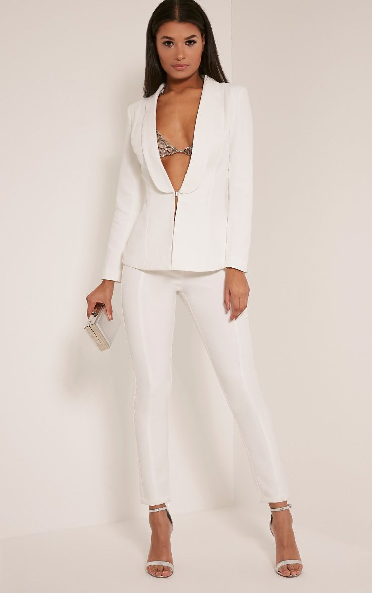 Avani Cream Suit Trousers