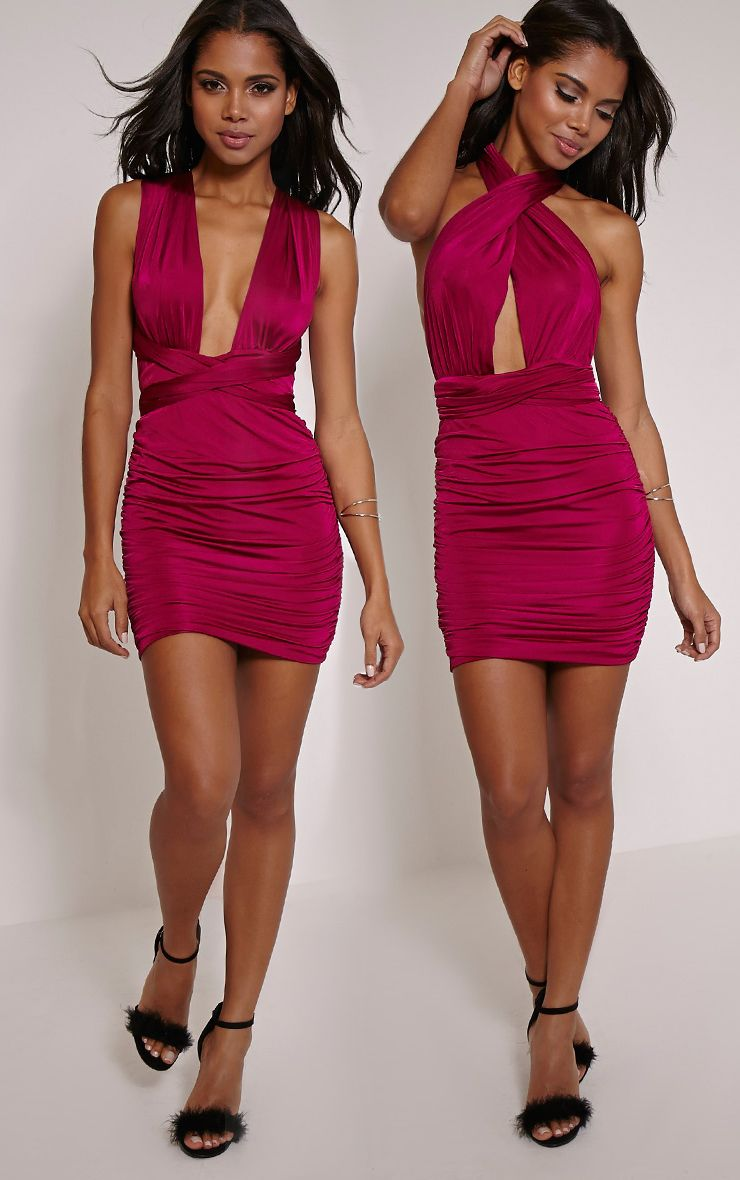 Katherine Berry Multiway Mini Dress 1