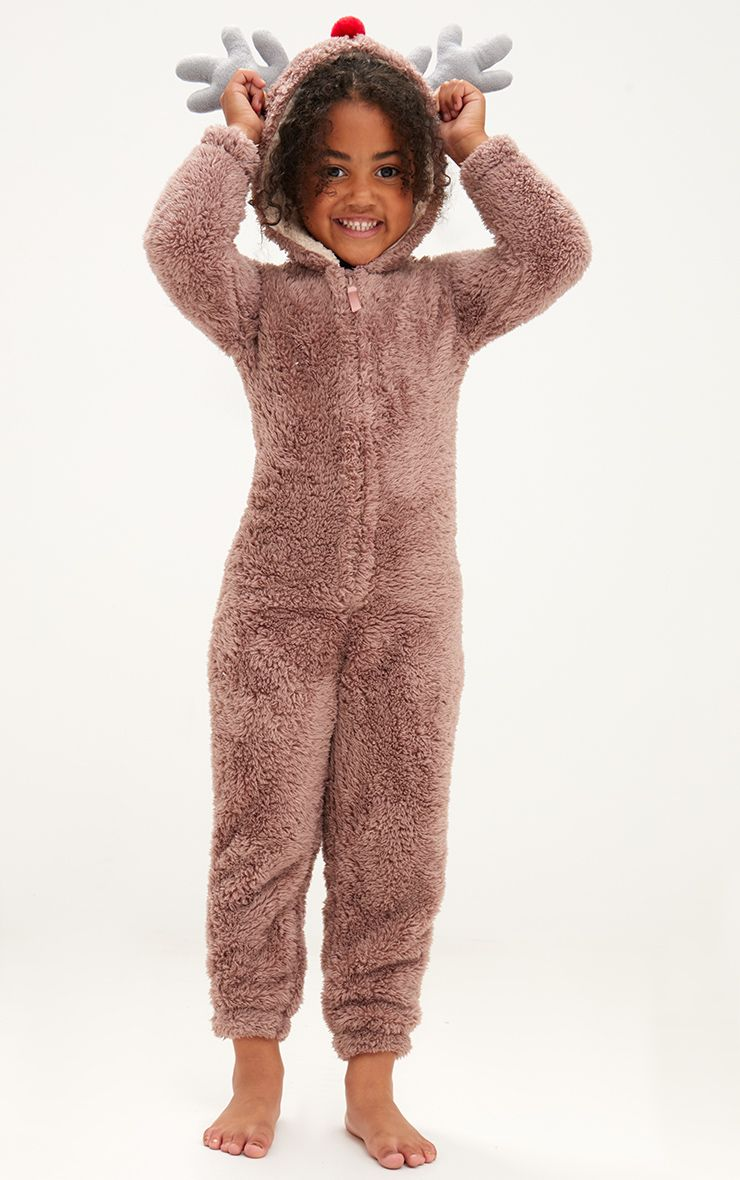 Reindeer Brown Onesie