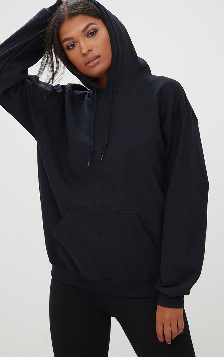 Black hoodie for girls
