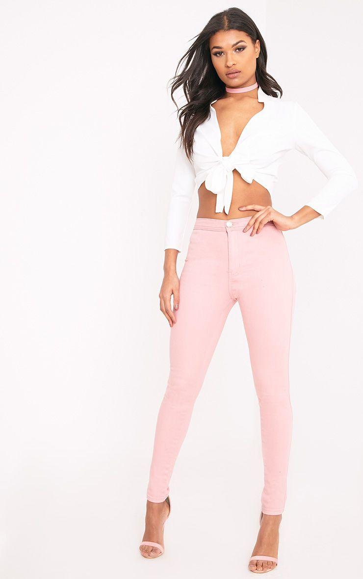 Kalayah Pink Skinny Jean