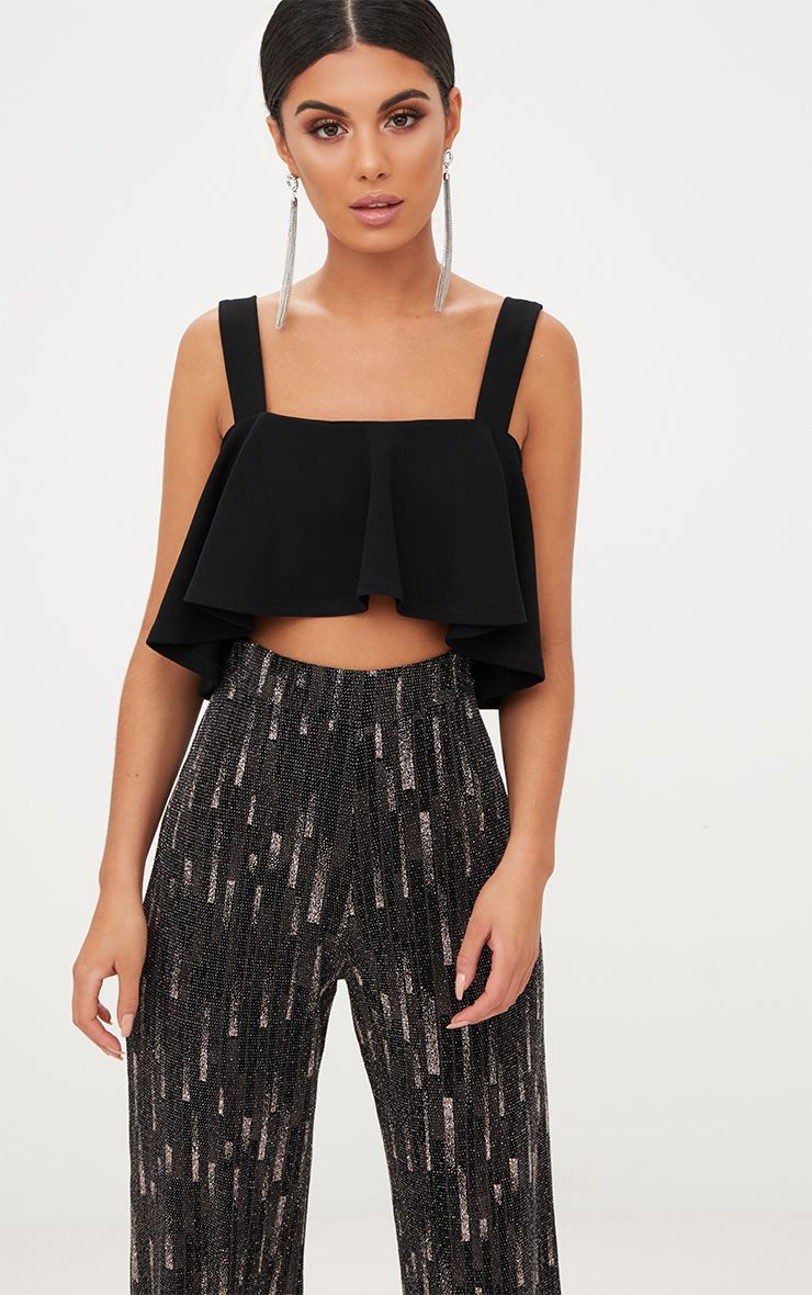 From sexy crop tops to level up your going out look, to cute crop tops for the everyday, top up your style now. Team a dressy bustier crop top with a high waisted slinky midi skirt and killer heels for a look worthy of date night with your beau or a night out with your besties.