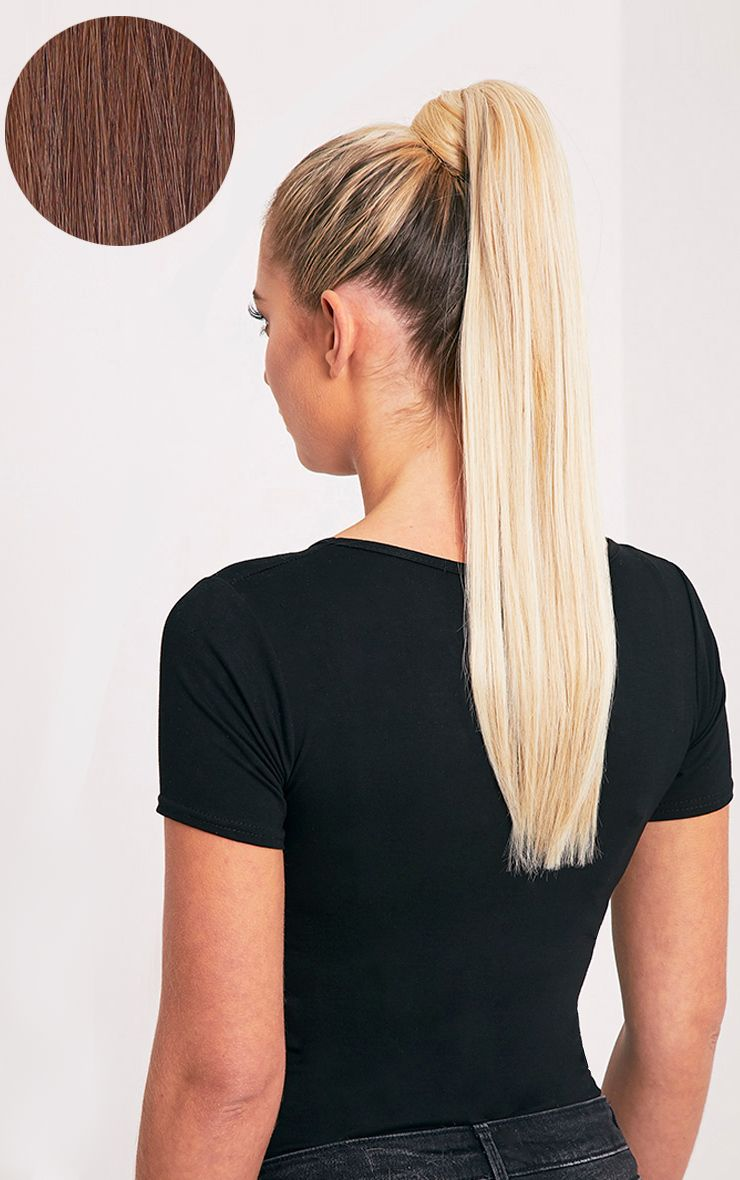 Beauty Works Chocolate Sleek Ponytail