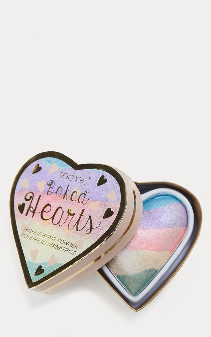 Technic Baked Hearts Rainbow Highlighter 1
