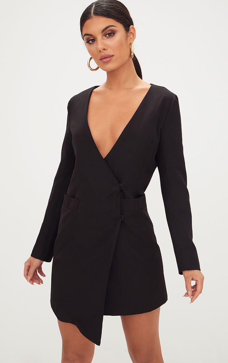 Blazer Dresses. Look the business in our range of boss girl blazer dresses and tuxedo dresses to slay your and beyond. The ultimate in workwear dressing, shop everything from slick blazer dresses in soft satin fabrics, or embrace all things power dressing in our range of 80's inspired tuxedo dresses.