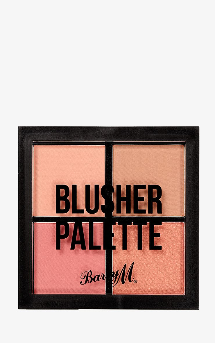 Barry M Blusher Quad Palette