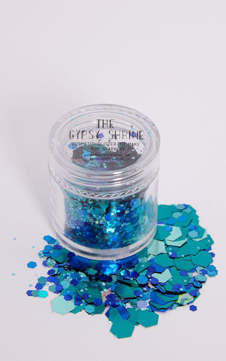 The Gypsy Shrine Turquoise Mermaid Glitter Pot