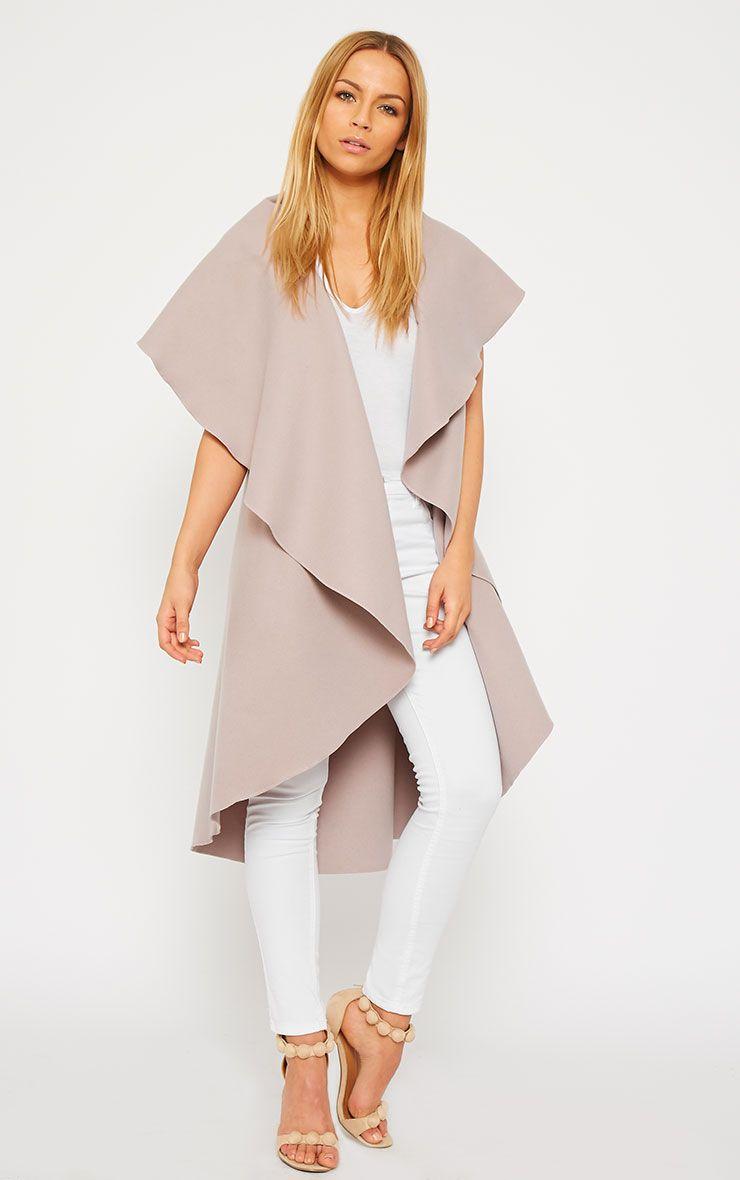 Vivian Dusty Pink Waterfall Waistcoat 5