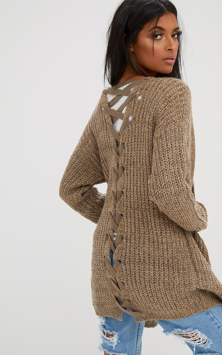 Stone Lace Tie Back Cardigan