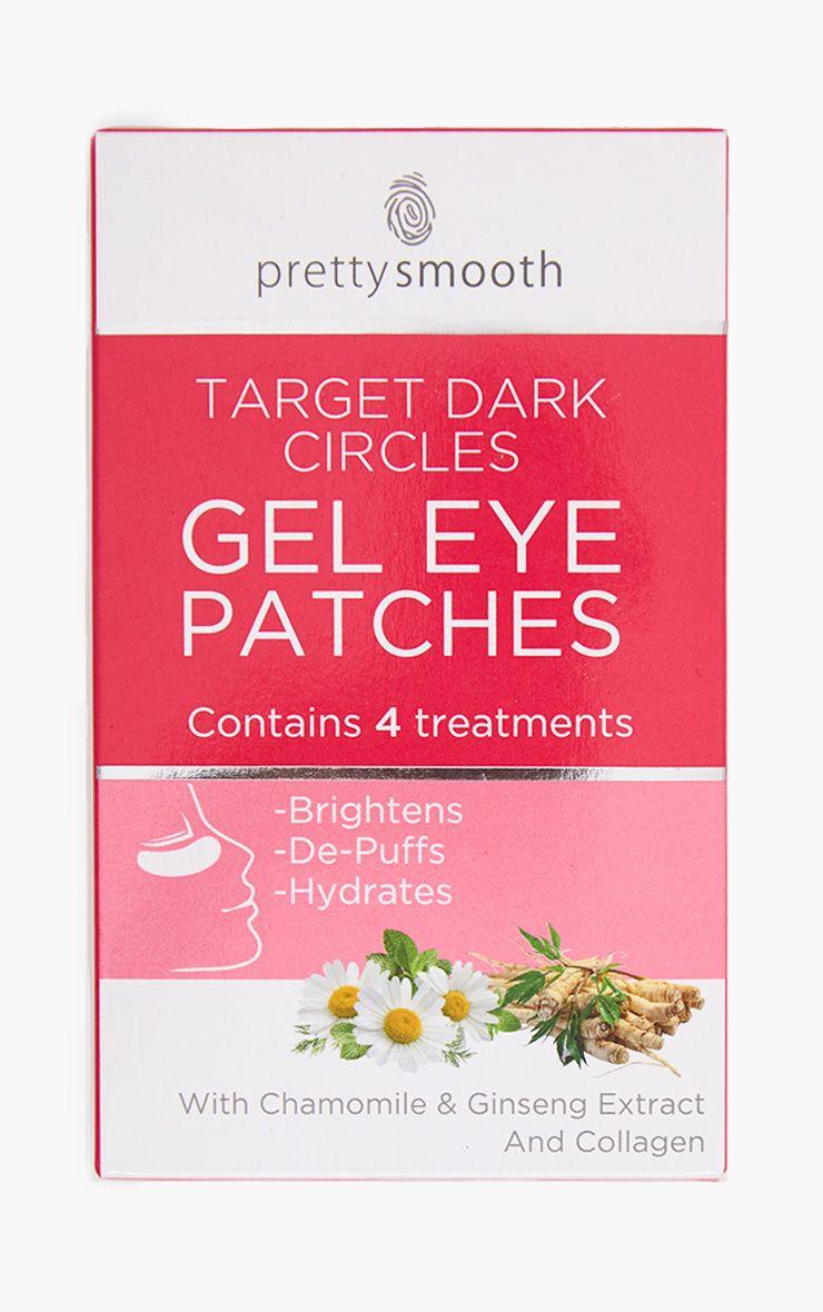 Lot de 4 patchs gel anti-cernes pour les yeux