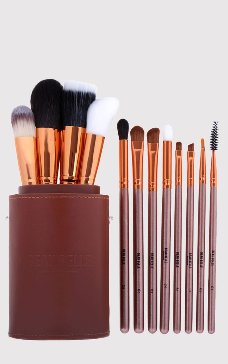 Beau Belle Brushes Bronze Pot