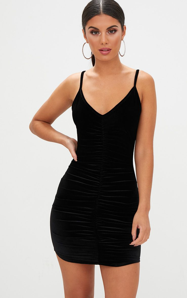 Shape Black Bandage Plunge Bodycon Dress Pretty Little Thing Fashionable For Sale Latest Cheap Online Cheap Sale Good Selling isYKKiSGp