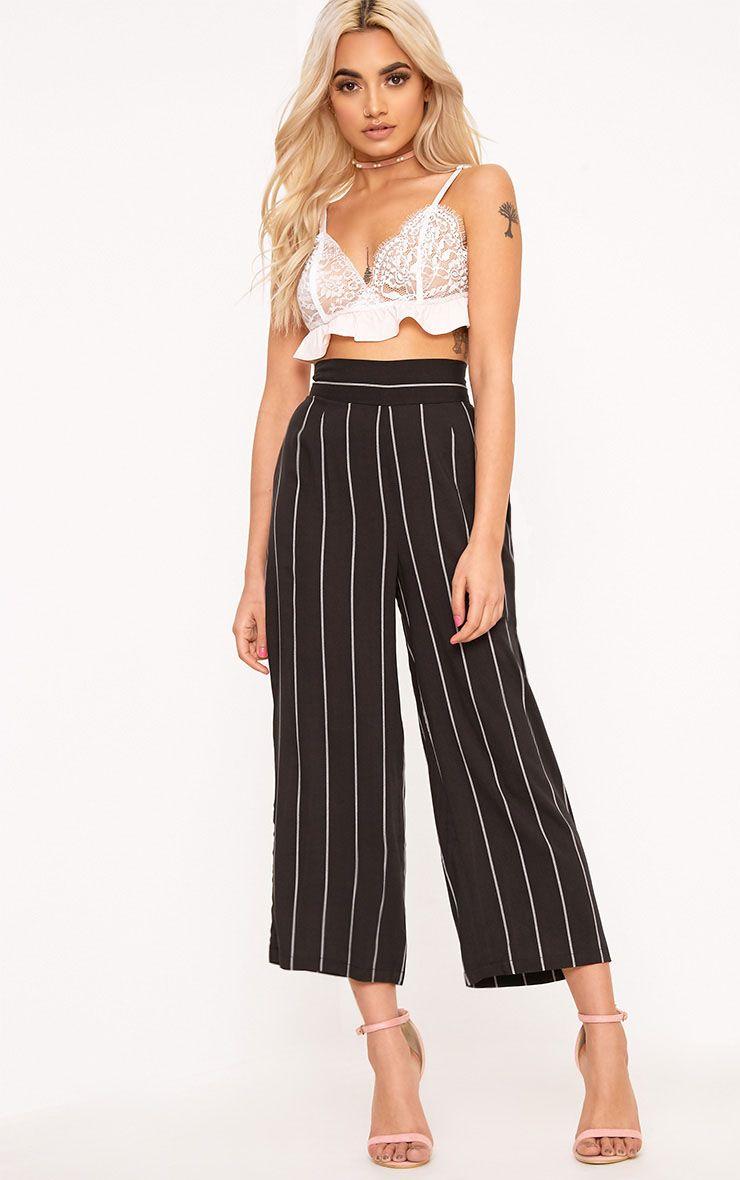 Tazmin Black Stripe Culottes