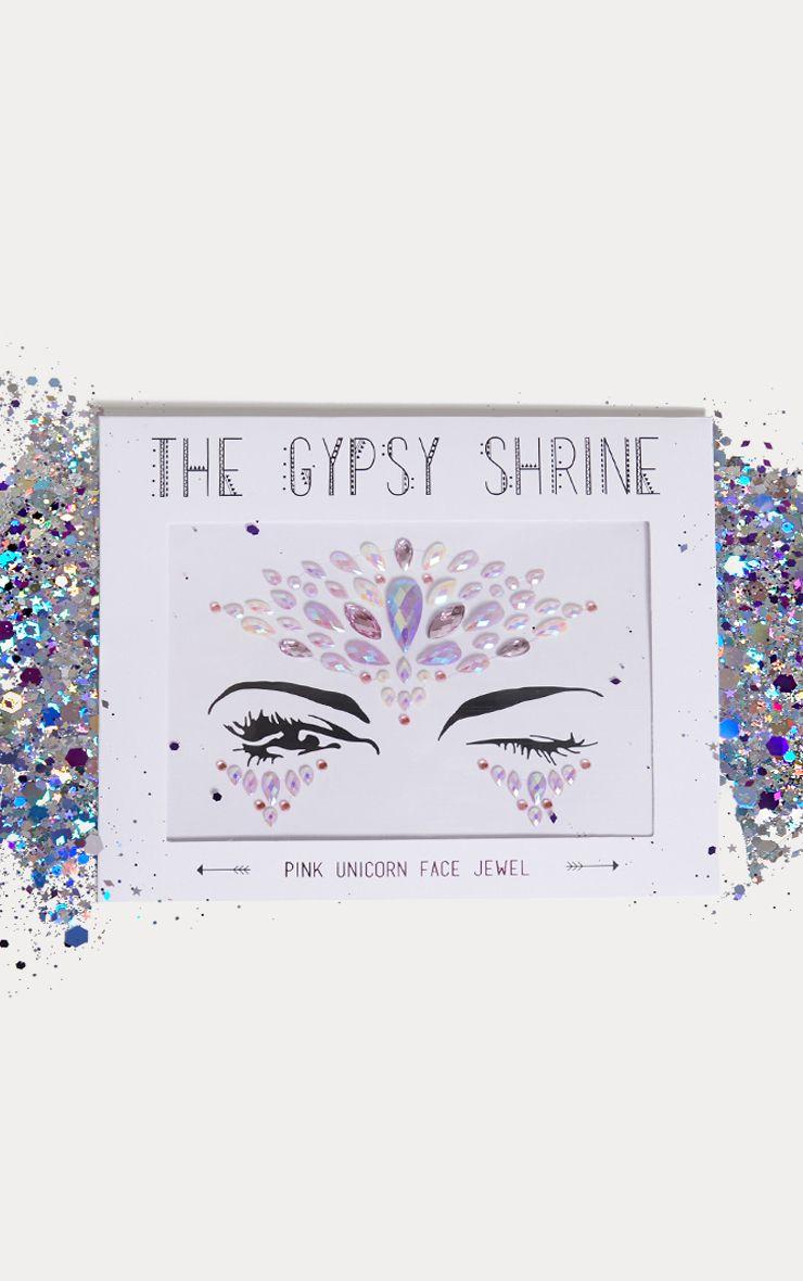Bijou de visage Gypsy Shrine - Pink Unicorn