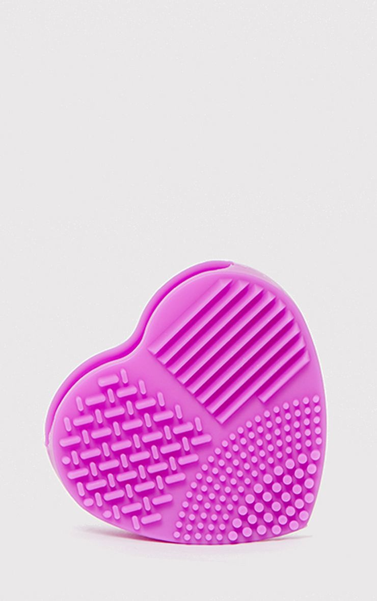 Pretty Purple Make Up Brush Cleaning Pad