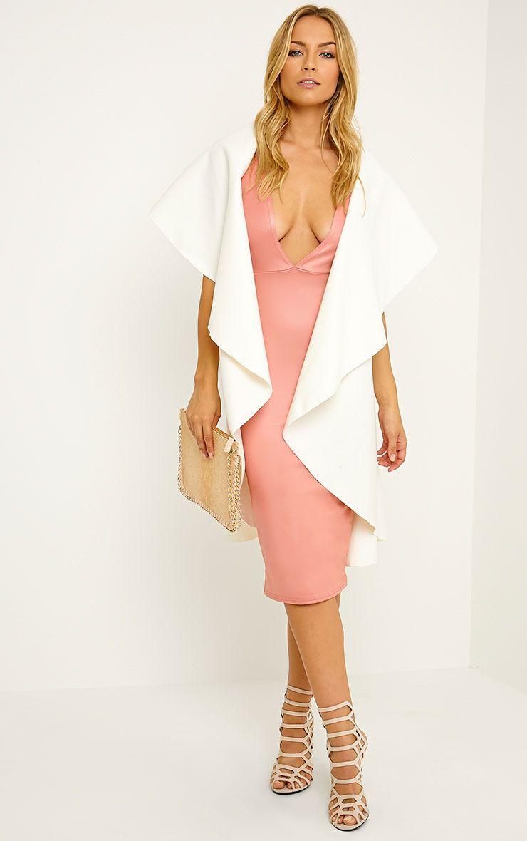 Vivian Cream Waterfall Waistcoat 1