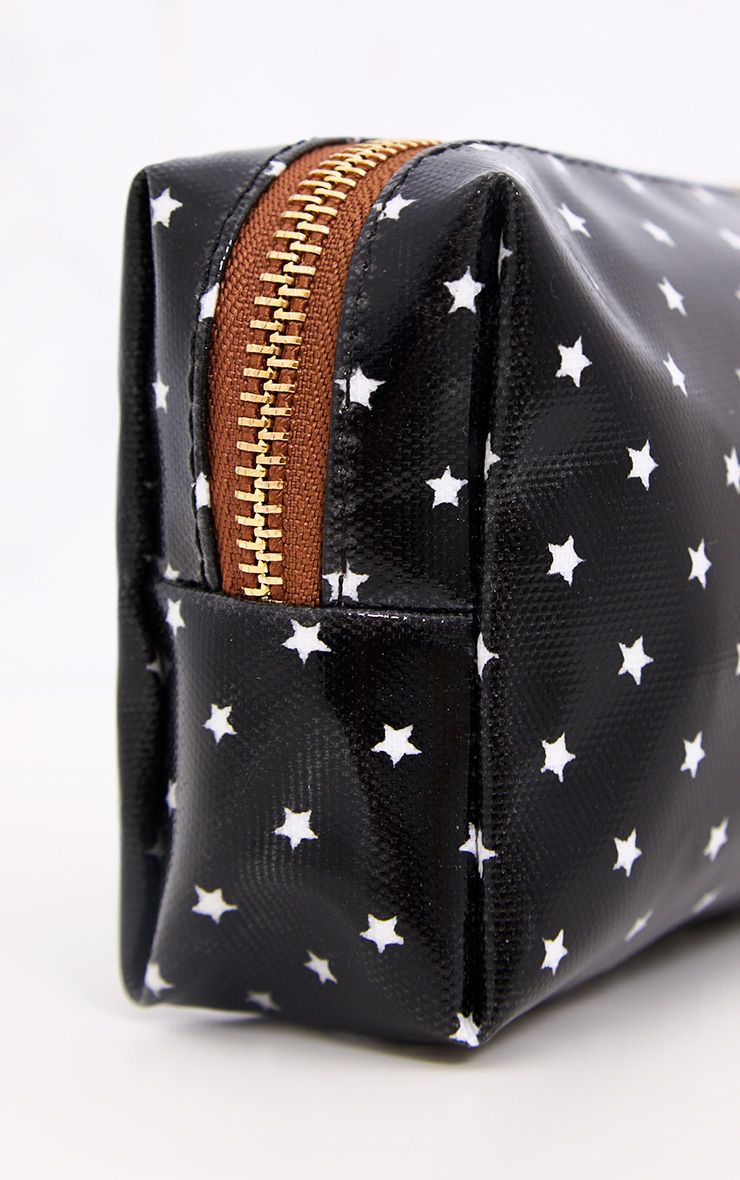 Black Star Make Up Bag
