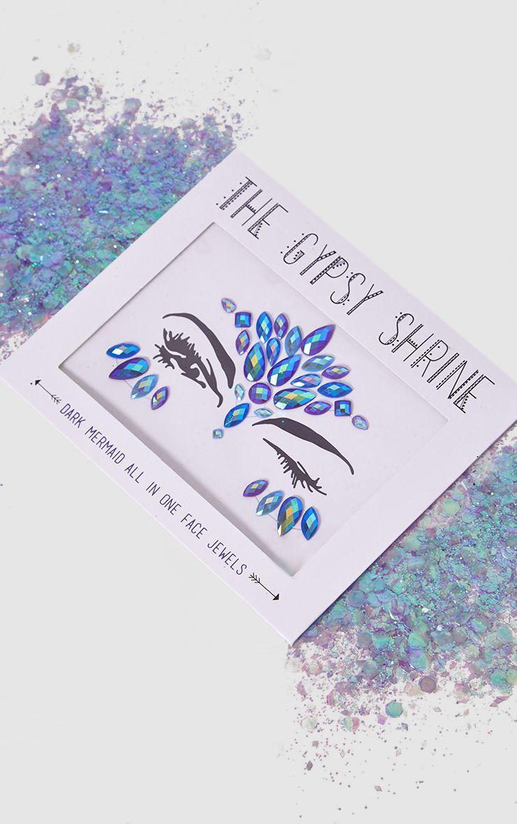 The Gypsy Shrine Halloween Dark Mermaid Face Jewels 1