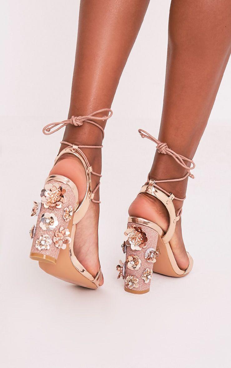 Diy Gold Heel Shoes