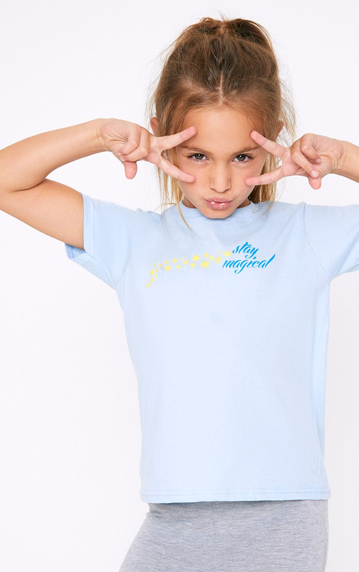 Stay Magical Blue T Shirt