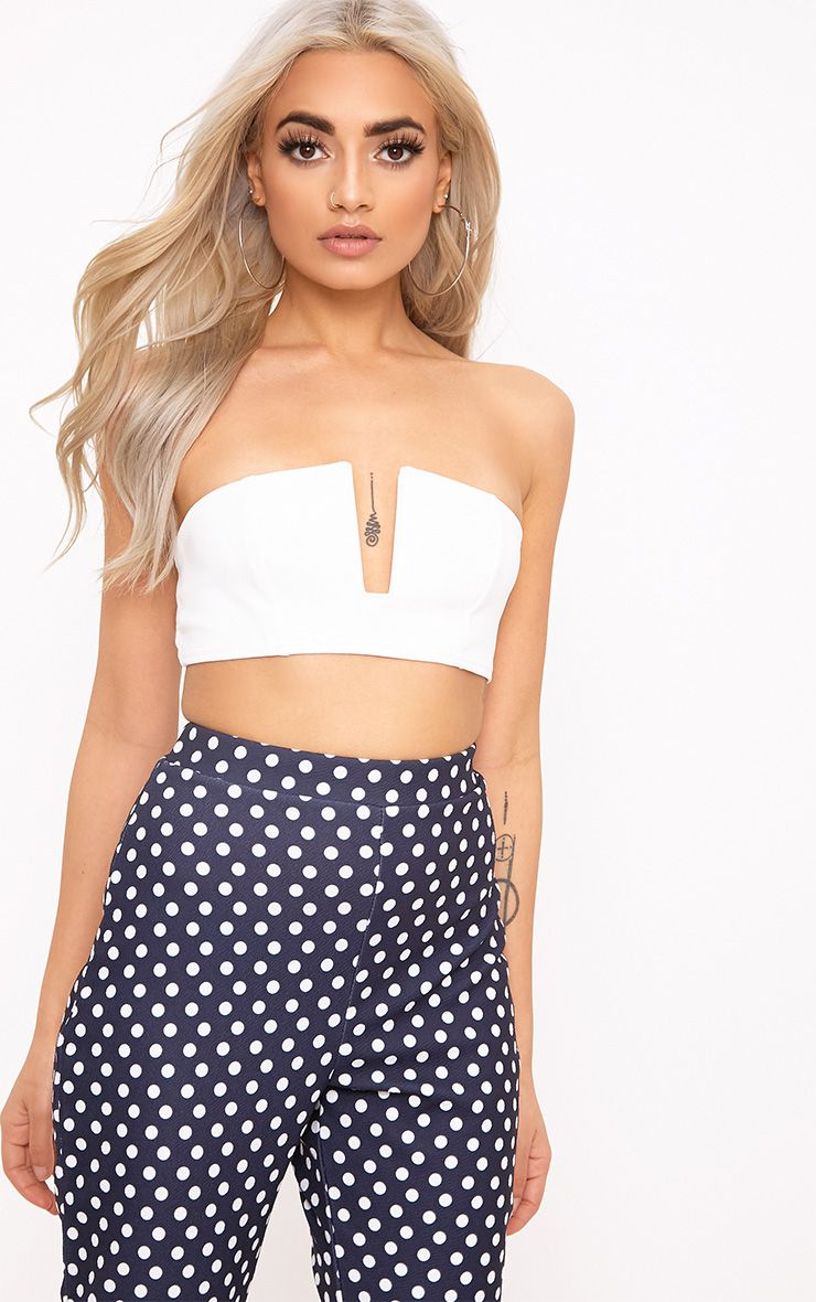 Cream Wired Bandeau