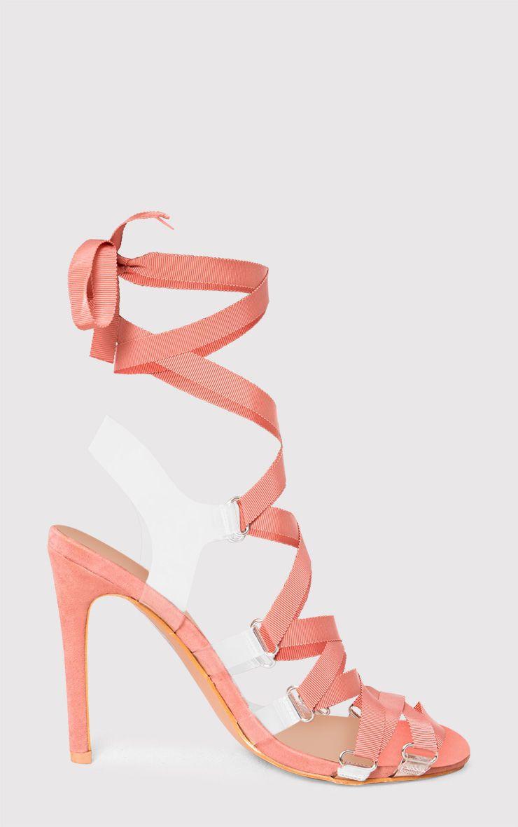 talons lacets rose p le chaussures. Black Bedroom Furniture Sets. Home Design Ideas