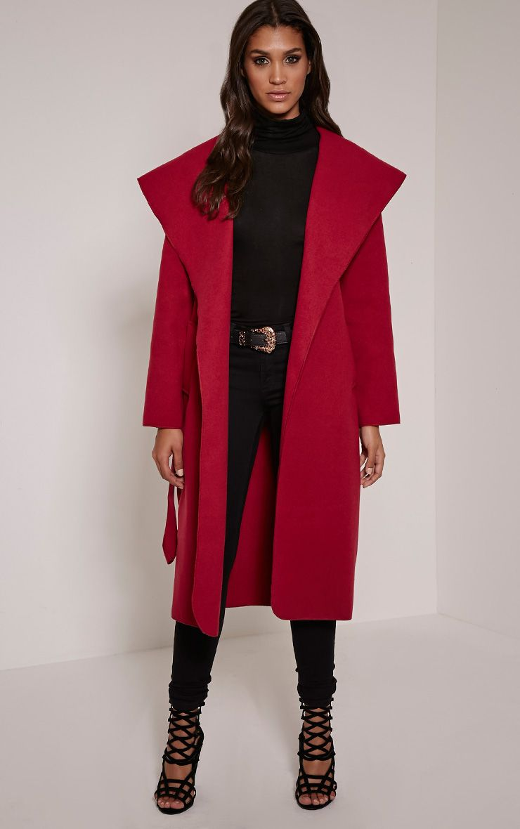 Veronica Berry Waterfall Coat 1