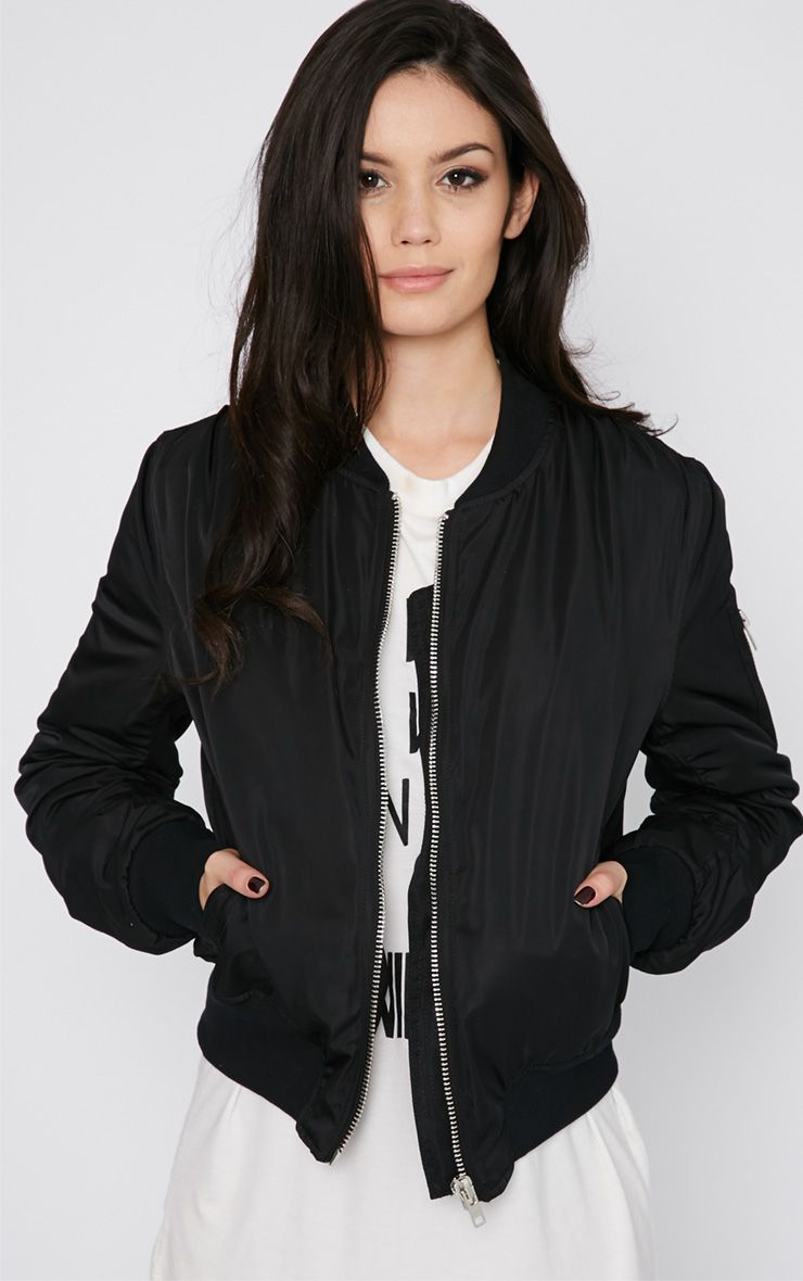 Maska Black Bomber Jacket  1