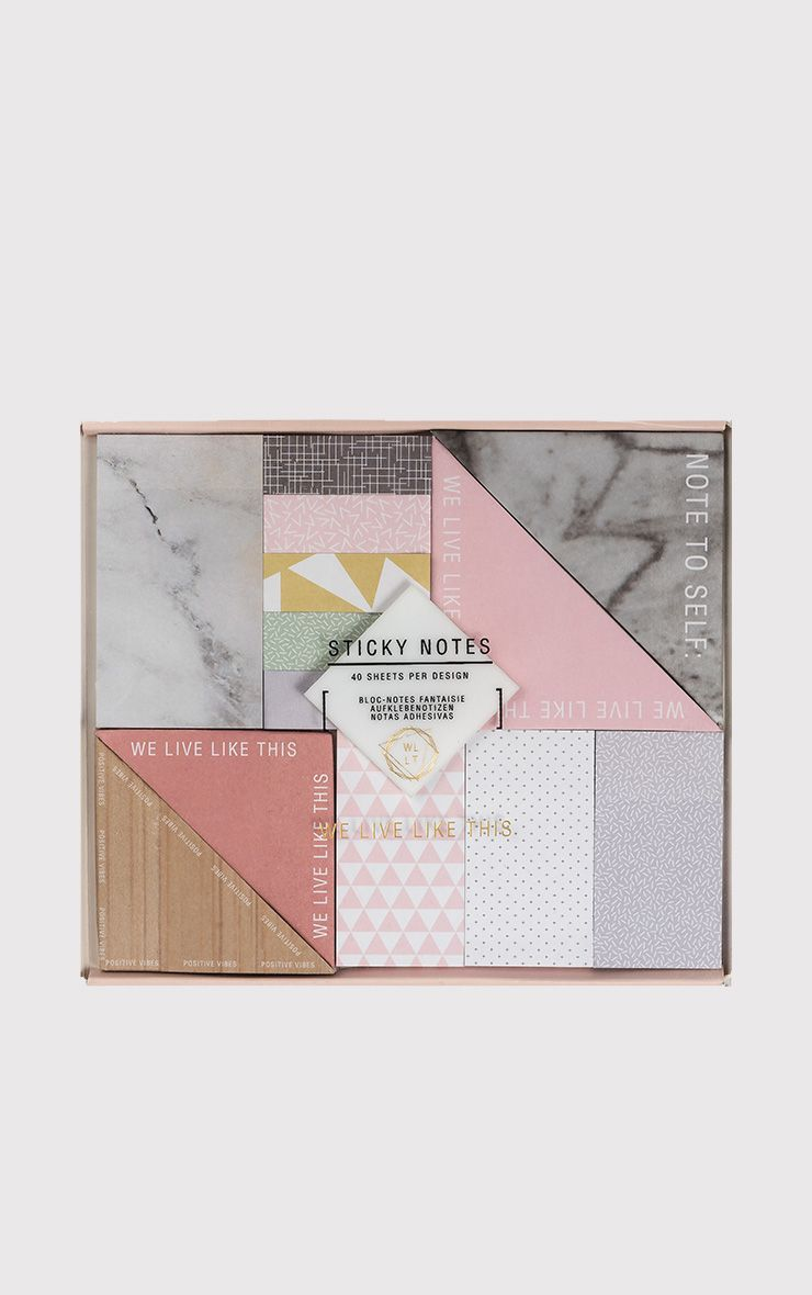WLLT Sticky Note Set