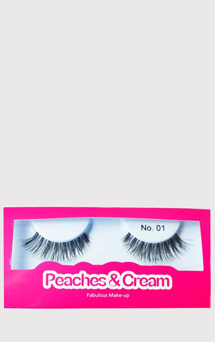 Peaches & Cream NO 1 False Eyelashes