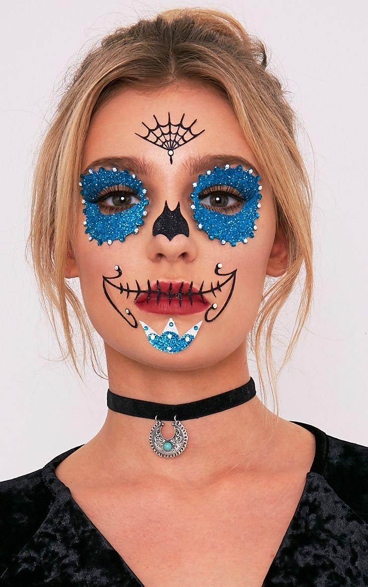 Sugar Skull Face Stickers