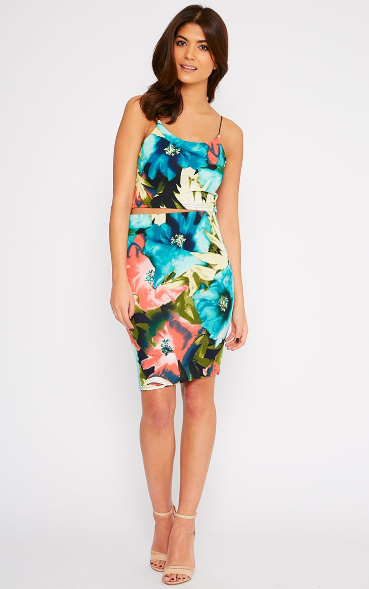 Pelli Floral Skirt 1