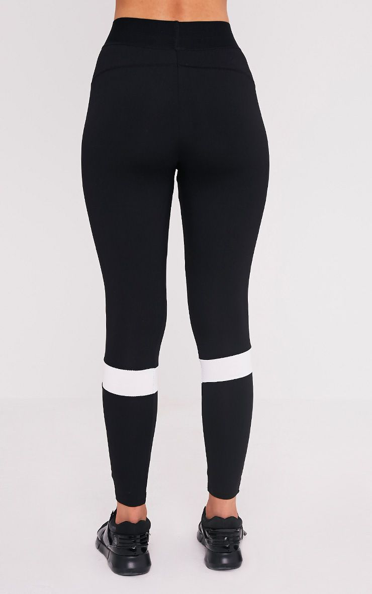 Grace legging de sport à empiècements noir 5
