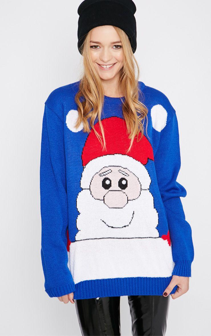 Nicky Cobalt Santa Christmas Jumper 1