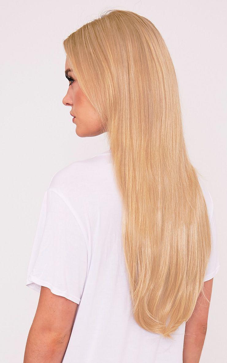 "Golden Blonde 24 One Weft Straight Extension"""