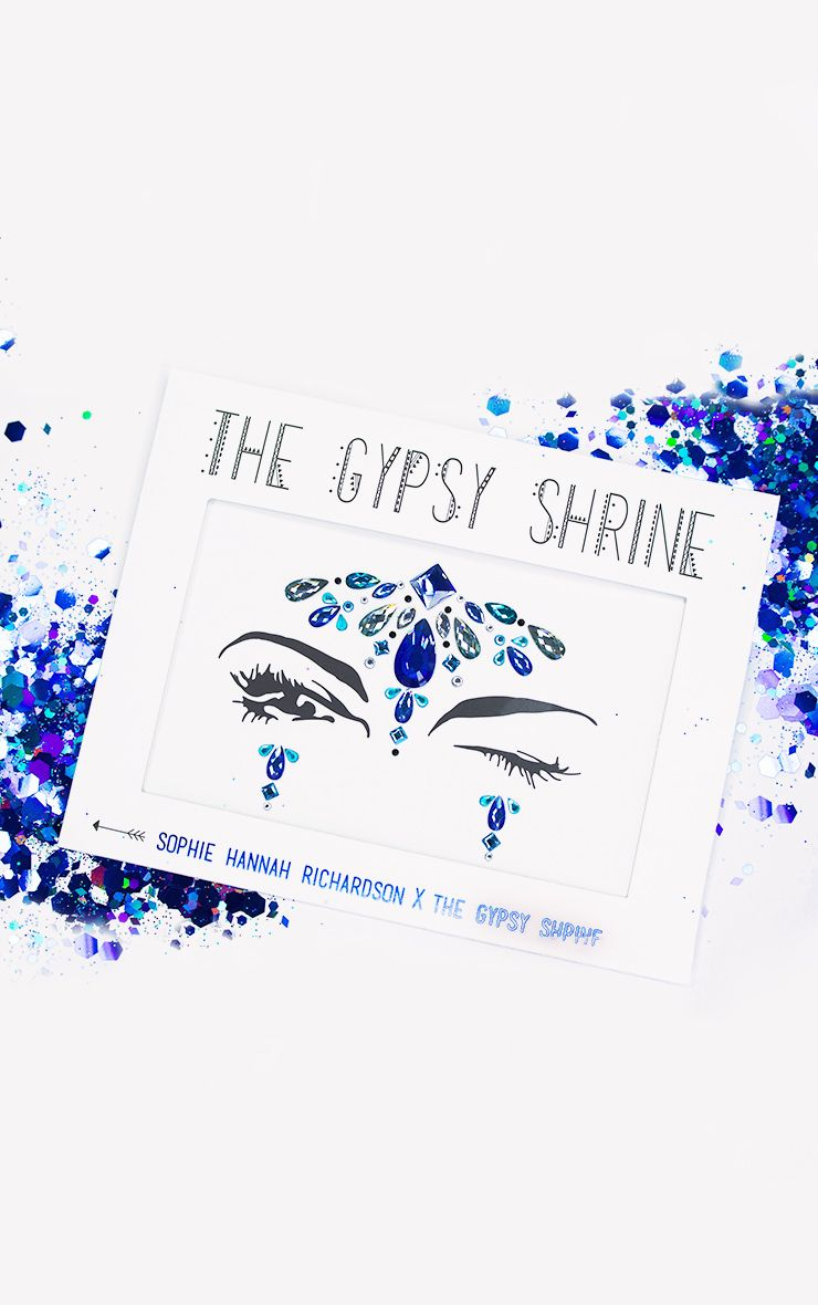 The Gypsy Shrine Blue Mermaid Face Jewels