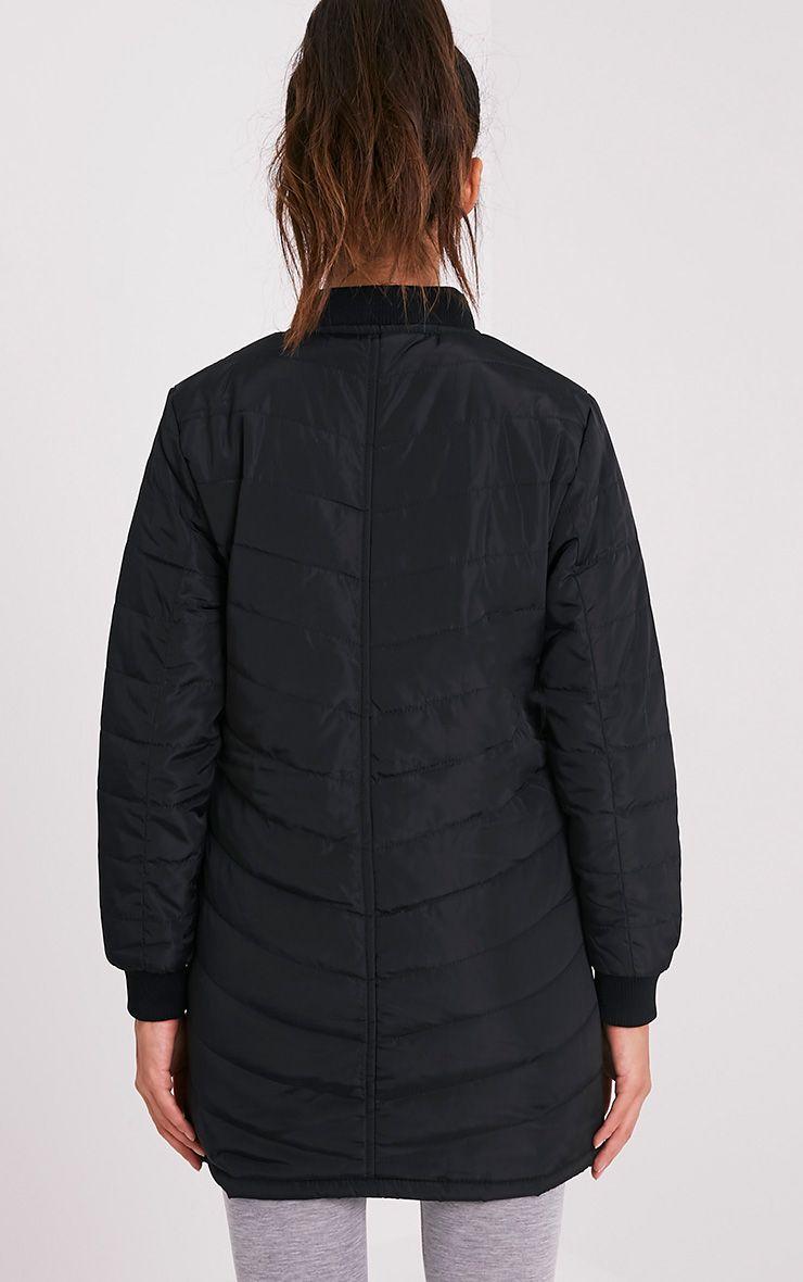 Dani manteau rembourré noir 2