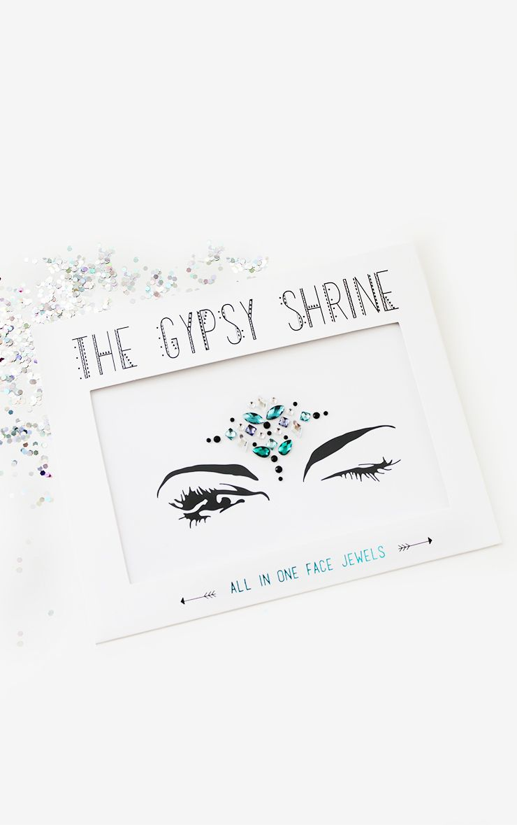 Bijoux pour le visage bleus Night Fever The Gypsy Shrine