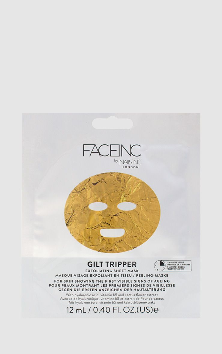 FACEINC By NAILSINC Gilttripper Face Mask