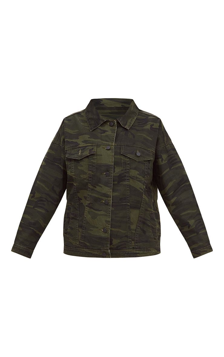 Available In Khaki Fold Down Collar Full Button Closure Chest Pockets Side Hand Pockets Lined With Sherpa Self: % Cotton Lining: % Polyester.
