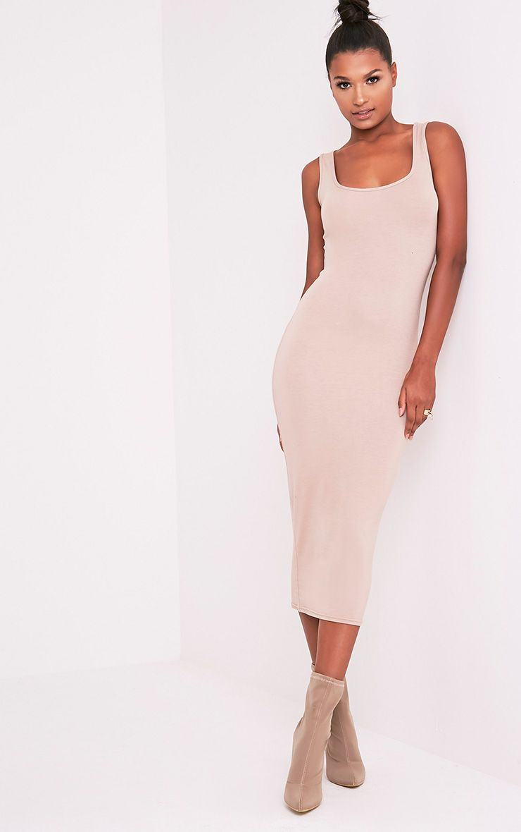 Mirah Stone Scoop Neck Midaxi Dress 5