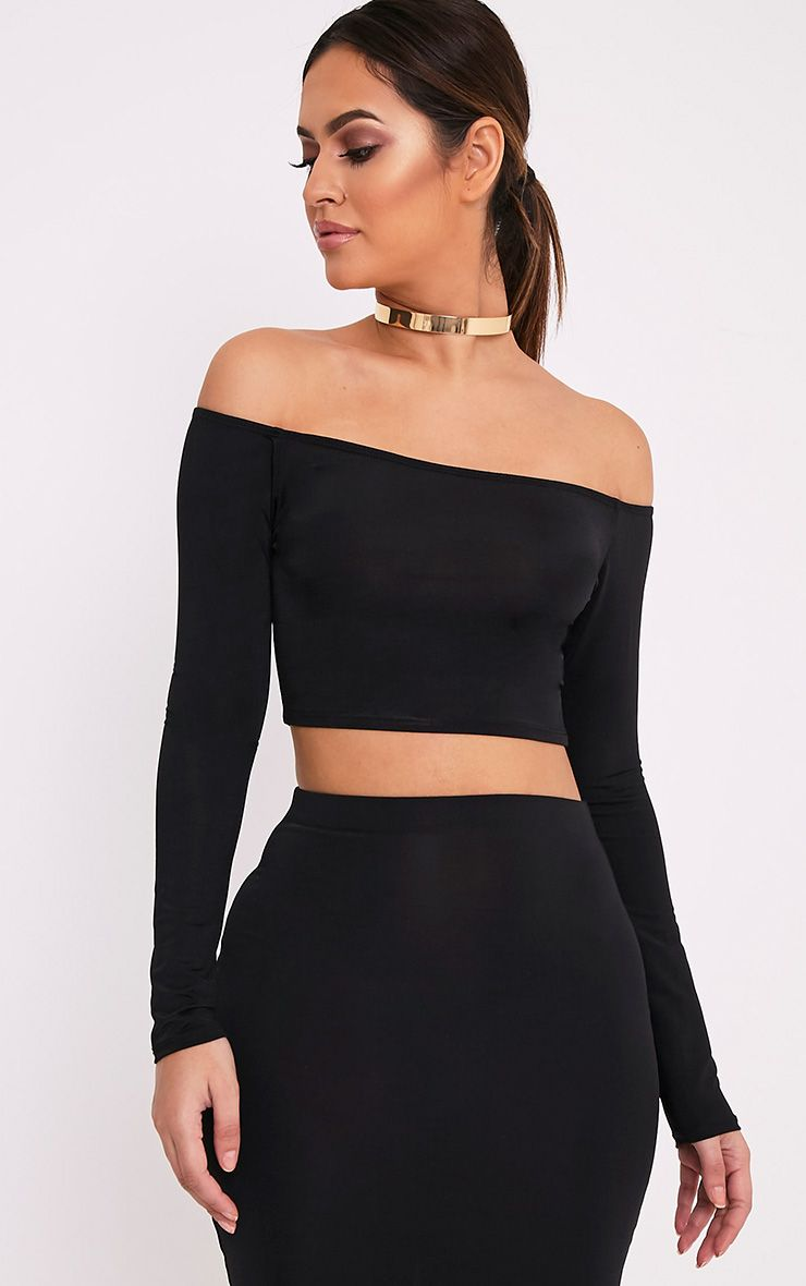 1d7e2e94748 Amelie Longsleeve Black Lace Crop Top $ Quantity. All of your favorite maxi  skirts have