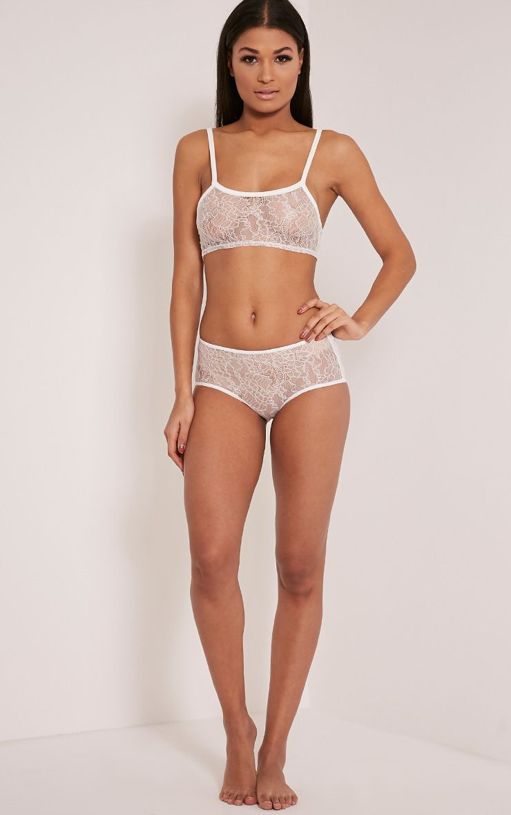 Bobbie Ivory Lace Knickers