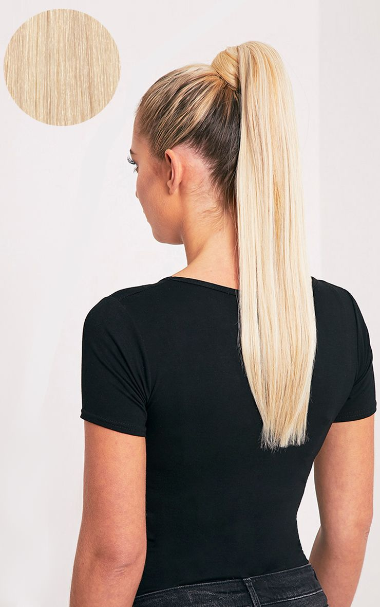Beauty Works LA Blonde Sleek Ponytail