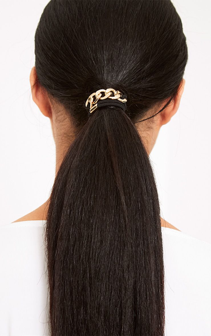 Millie Gold Chain Detail Hair Band