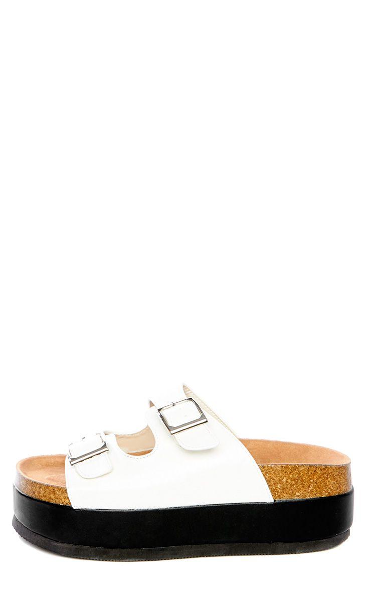 Dana White Platform Sandals 1
