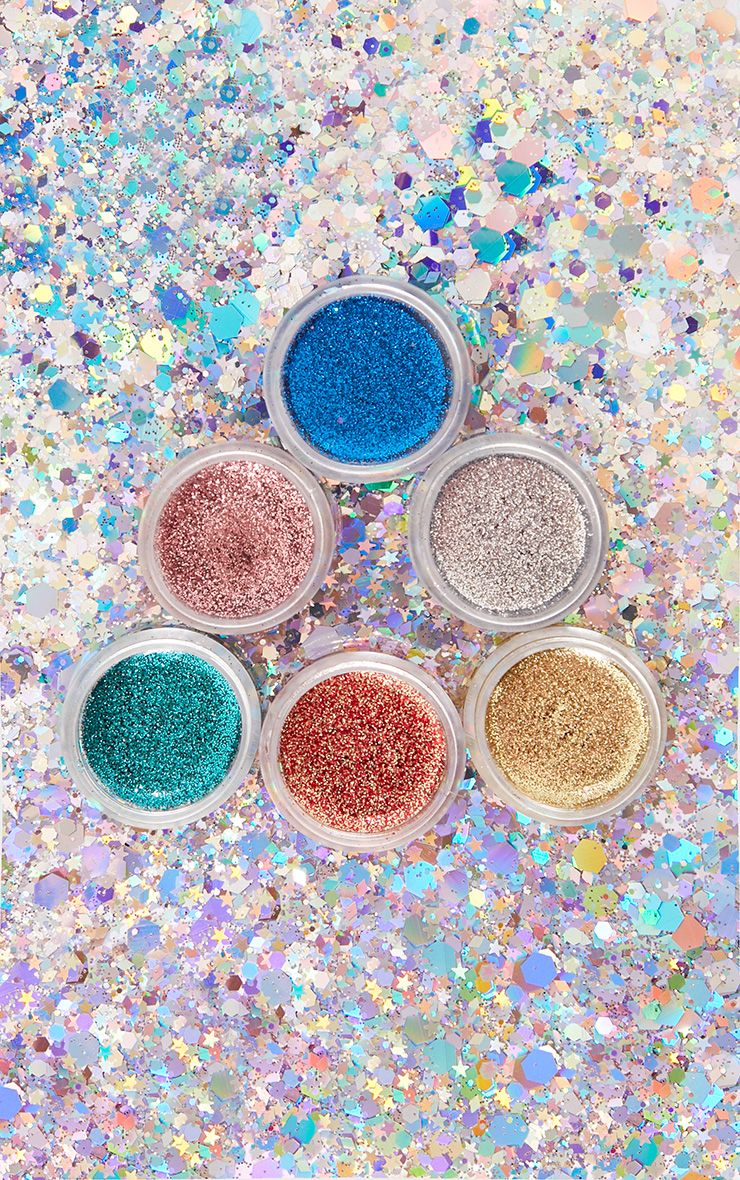 PLT All That Glitters 6 Piece Glitter Balm Set